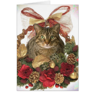 ¡Navidad de Meowy! Tarjeton