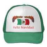 Navidad de México Gorras De Camionero