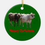 Navidad de Mooey Ornamento Para Arbol De Navidad