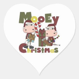 Navidad de Mooey Colcomanias Corazon