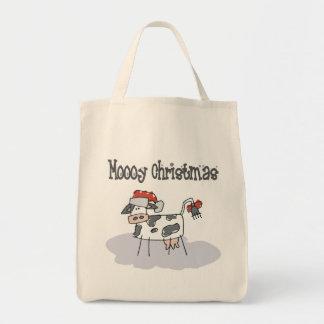 Navidad de Moooy Bolsa Tela Para La Compra
