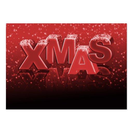 Navidad de Navidad Tarjetas De Negocios