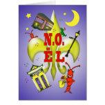 Navidad de New Orleans N.O.ël Noël Tarjeta De Felicitación