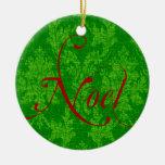 Navidad de Noel Ornamente De Reyes
