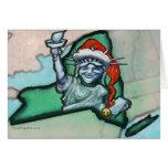Navidad de Nueva York Felicitacion