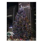 Navidad de NYC Postales