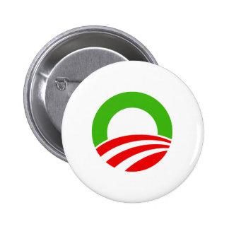Navidad de Obama Pin