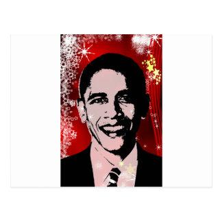 Navidad de Obama Postal