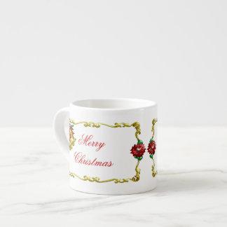 Navidad de oro #1 tazas espresso