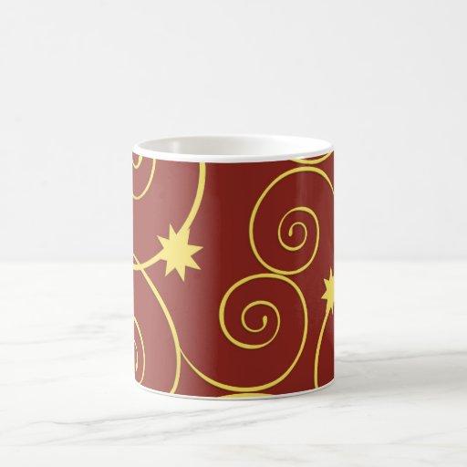 Navidad de oro tazas
