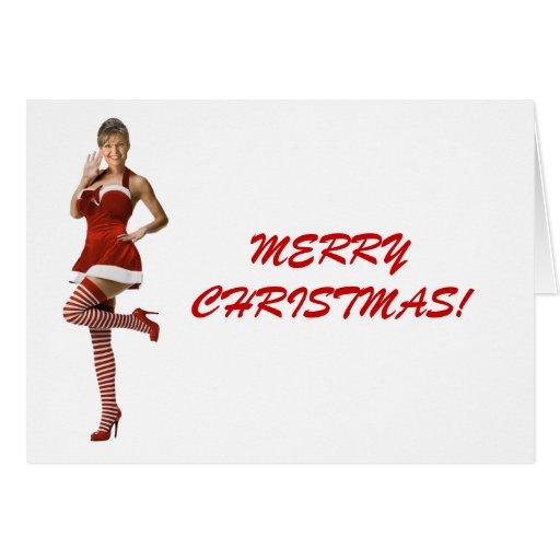 Navidad de Palin (camiseta, tarjetas de Navidad, b