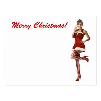 Navidad de Palin (camiseta, tarjetas de Navidad, Postal