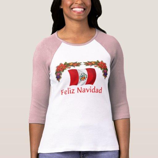 Navidad de Perú Camiseta