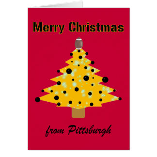Navidad de Pittsburgh Felicitación