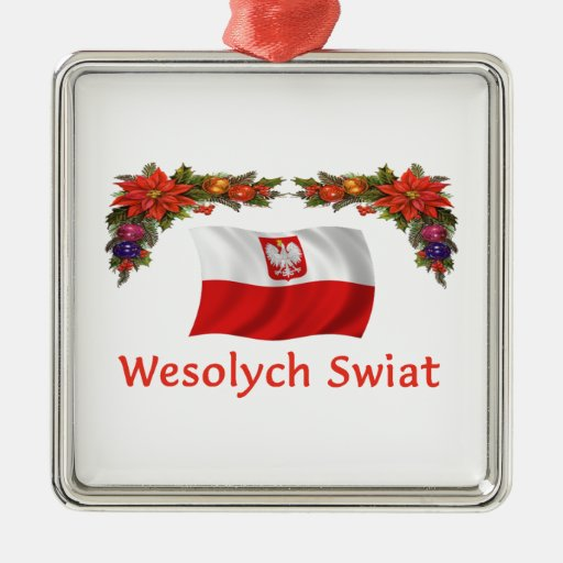 Navidad de Polonia Ornamento De Navidad
