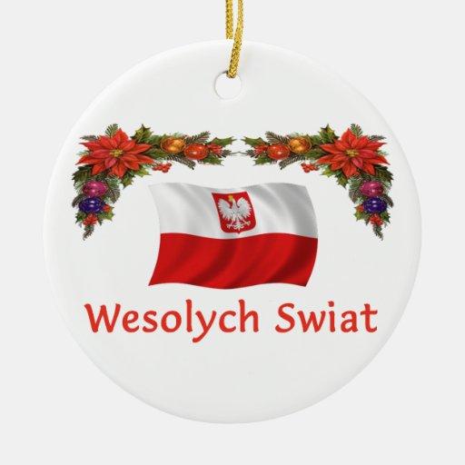 Navidad de Polonia Ornamento De Reyes Magos