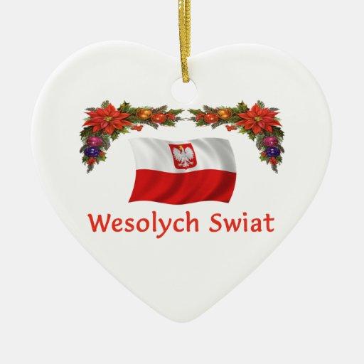 Navidad de Polonia Ornaments Para Arbol De Navidad