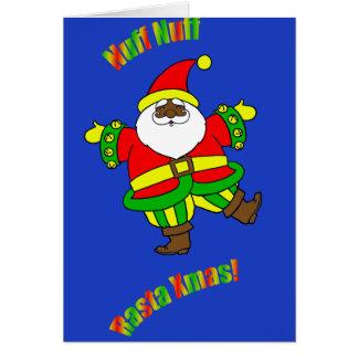 Navidad de Rasta Tarjeta Pequeña