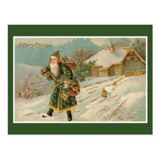 Navidad de Santa del Victorian Postal