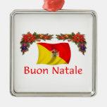 Navidad de Sicilia Ornamentos De Navidad