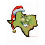 Navidad de Tejas Postal