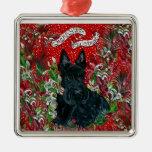 Navidad de Terrier del escocés Ornamentos De Navidad