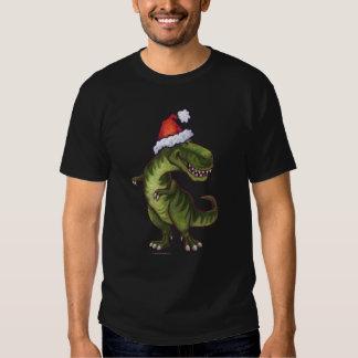 Navidad de TRex Playera