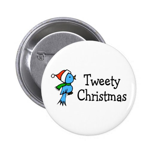 Navidad de Tweety Pin Redondo 5 Cm