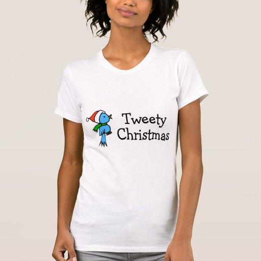 Navidad de Tweety T-shirt