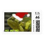 Navidad de un camaleón sello