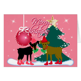 Navidad de un Pin del minuto Tarjeta De Felicitación