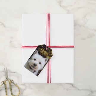 Navidad de Westie Etiquetas Para Regalos