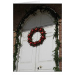 Navidad de Williamsburg Tarjeta