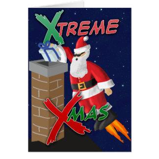 Navidad de X-Treme Tarjeton