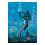 Navidad debajo del mar (tarjeta)
