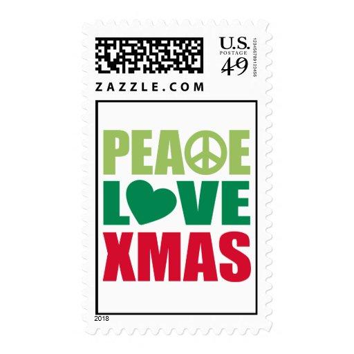 Navidad del amor de la paz envio