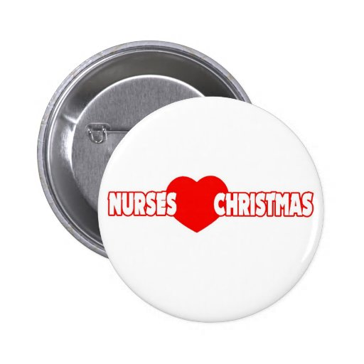 Navidad del amor de las enfermeras pins