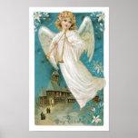 Navidad del ángel poster