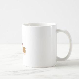 Navidad del arbolado taza