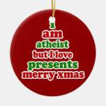 Navidad del ateo ornamentos de reyes