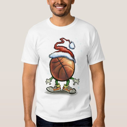 Navidad del baloncesto playeras