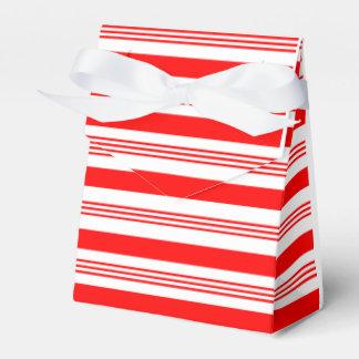 Navidad del bastón de caramelo cajas para regalos de fiestas