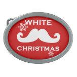 Navidad del bigote hebillas de cinturon