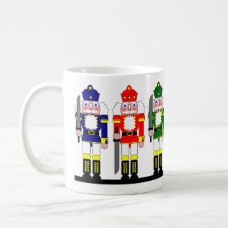 Navidad del cascanueces personalizado taza