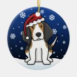 Navidad del Coonhound del caminante de Treeing del Ornamentos De Reyes Magos