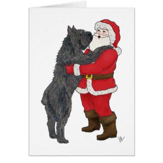 Navidad del DES Flandres de Bouvier que saluda Tarjeta De Felicitación