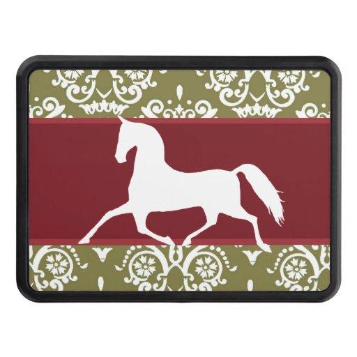 Navidad del día de fiesta del caballo que trota tapa de tráiler
