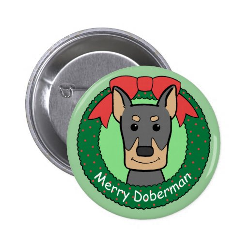 Navidad del Doberman Pin