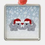 Navidad del elefante adorno para reyes