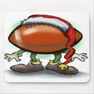 Navidad del fútbol tapete de ratón